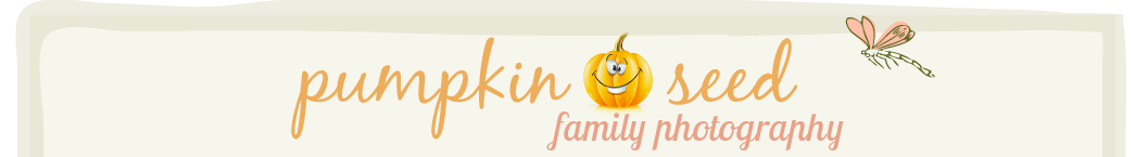 Pumpkin Seed family Photography Melbourne logo